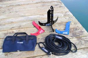 Dock Hawk. Sandspike - The ultimate beach anchor for boats of all types including motor boats, sail boats, fishing boats, water ski, jet ski and float planes.